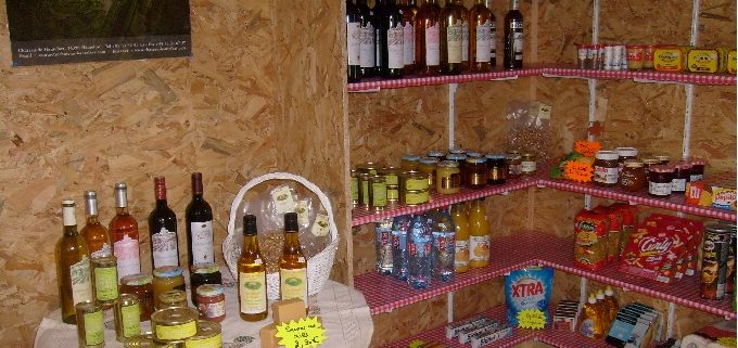 Épicerie du camping Le Clupeau