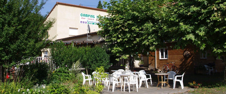 Terrasse du restaurant Le Clupeau