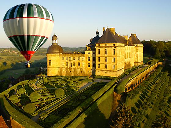 Escapade en montgolfière