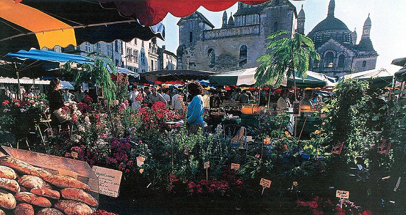 Marché de Périgueux